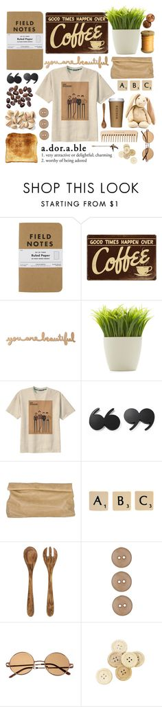 """""""Morning joe"""" by olivia-rosie ❤ liked on Polyvore featuring Kikkerland, Retrò, Kate Spade, Marie Turnor, Toast, Rock 'N Rose, Crate and Barrel, The Body Shop, C.R.A.F.T. and Acne Studios"""
