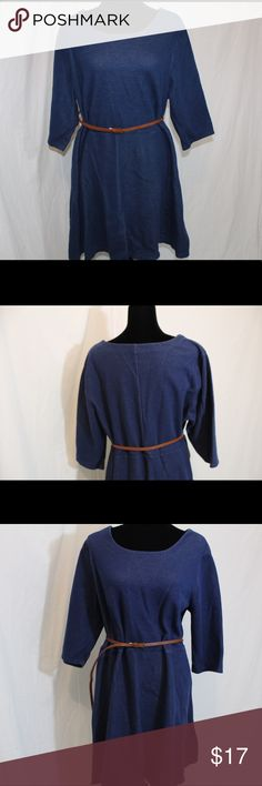 Old navy faux jean belted dress size 2x Old navy faux jean belted dress size 2x GUC Old Navy Dresses