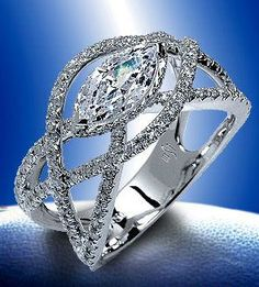 The Marquise Diamond...Reinvented!  Found at Diamond R Jewelry-Hays, Ks