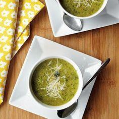 Creamy Broccoli Soup Recipe | MyRecipes.com