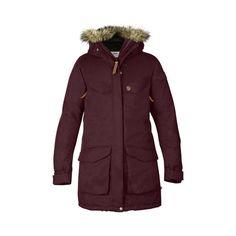 bf8f7e7733c4fb Women s Fjallraven Nuuk Parka - Dark Garnet Jackets