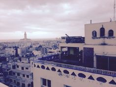 Casablanca view from my hotel room