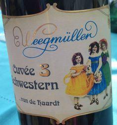 Cuvée 3 Schwestern vun de Haardt. Weingut Weegmüller