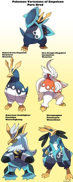 Pokemon Subspecies Empoleon by Phatmon66.deviantart.com on @DeviantArt