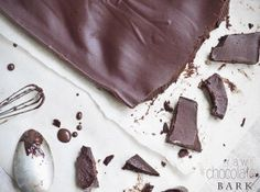 Simple Raw Chocolate Bark