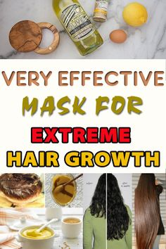 Very Effective Mask for Extreme Hair Growth                                                                                                                                                                                 More
