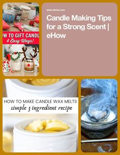 candle making kits Candle Making For Beginners, Wax Melts, Candles, Simple, Easy, How To Make, Recipes, Gifts, Food