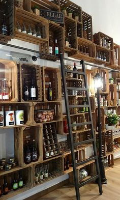 Vintage cafe interior design ideas coffee shop ideas for 2019 Deco Restaurant, Luxury Restaurant, Restaurant Interiors, Rustic Restaurant Design, Restaurant Quotes, Shop Interiors, Rustic Interiors, Restaurant Shelving, Modern Restaurant