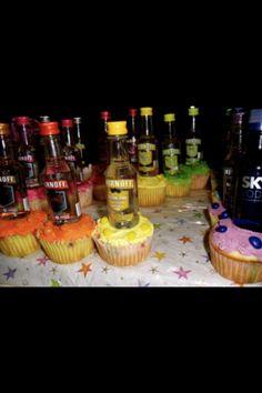 Vodka cakes!