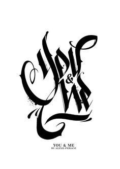 Alexis Persani | Typography