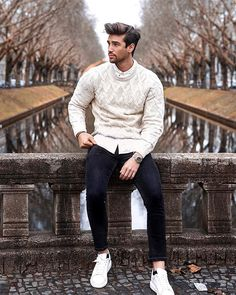 Newest Photos Mens fashion simple Suggestions , Mens Fashion Sweaters, Mens Fashion Suits, Fashion Menswear, Men Looks, Style Costume Homme, Glam Look, Style Casual, Man Style, Classy Style