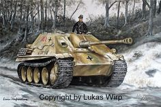 German Tank Jagdpanther Ritterkreuz Panzerjäger Regiment..FEB16