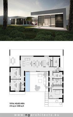 Modern villa AJ designed by NG architects www.ngarchitects.eu