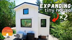Guest House Shed, Tiny House Living, Tiny House Shipping Container, Container Houses, Solo Mom, House Slide, Oregon House, Modular Homes, Big Houses