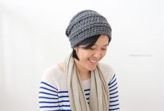 Whip up this quick and easy Millbrook Slouch Hat and donate it to charity as you use your crochet skills to become a superhero in your community!