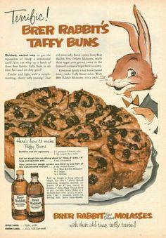 1953 Vintage Ad for Brer Rabbit Molasses | eBay