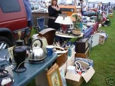The original! Here is my guide to practical car boot sale buying and selling. Below I give useful tips on buying and selling.... plus.... what's hot to offer, and what's not! Other people have copied this...