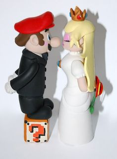 mario bros mariage - Recherche Google