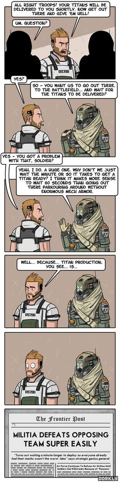 """TitanFail"" #dorkly #geek #titanfall"