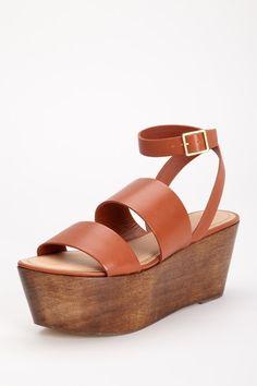 ed2ffd9f7cc86 Elizabeth and James Bax Platform Sandal Platform Shoes