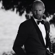 That tux is lux ... Jason Statham