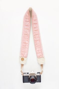 camera straps - padded, cute as cupcakes, ultra feminine, it would go with my pink energy theme, Image of Super Girl
