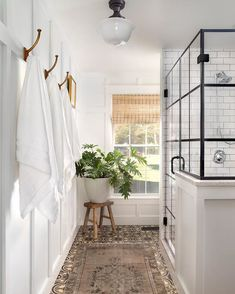 Steampunk Bathroom Ideas – Decorating Your Home Bathroom Renos, Laundry In Bathroom, Bathroom Renovations, Master Bathroom, Bathroom Ideas, Boho Bathroom, Bathroom Towel Hooks, Bathroom Modern, Bathroom Signs