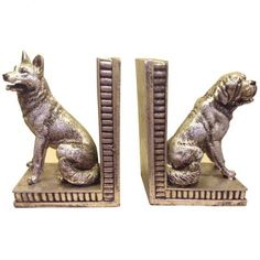 Doggy Pals Bookends – Next Day Delivery Doggy Pals Bookends from WorldStores: Everything For The Home
