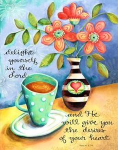 Proverbs 31 Woman Discover Delight Yourself in the Lord Coffee Christian Scripture Inspirational Art Print Bible Verses Quotes, Bible Scriptures, Scripture Images, Favorite Bible Verses, Bible Art, Word Of God, Thy Word, Christian Quotes, Religion