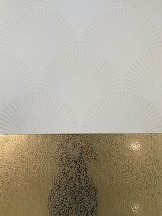 Pavone is the design, available in 6 different colour ways. White (as shown), Silver and bronze on a matt white background. Black, silver and bronze on a matt black background. Just simply stunning! Interior Styling, Interior Design, Porcelain Tile, Black Backgrounds, Different Colors, Black Silver, Bronze, Tapestry, Colour