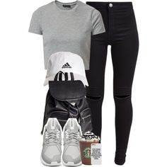 I keep my head high, I got my wings to carry me. by cheerstostyle on Polyvore featuring polyvore, fashion, style, New Look, adidas and H&M
