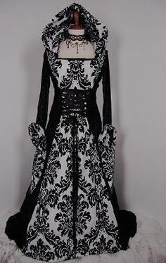 Steampunk  gothic dress
