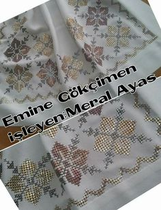 This Pin was discovered by eli Cross Stitch Embroidery, Hand Embroidery, Cross Stitch Patterns, Embroidery Designs, Hobbies And Crafts, Diy And Crafts, Swedish Weaving, Beaded Cross, Thread Work