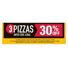Spend & Save @ Domino`s Pizza 30% OFF - Bargain Bro