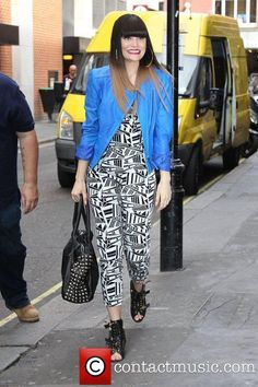 Jessie J. spotted at the BBC Radio 1 studios in London on May 31, 2012
