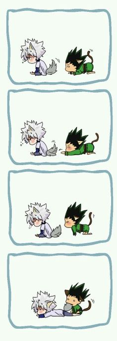 Owww, killua y gon son tan kawaii