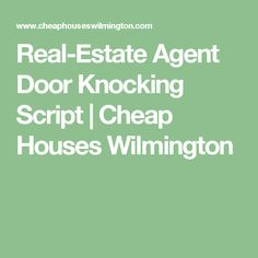 42 Best Scripts for Real Estate Agents images in 2018 | Real Estate