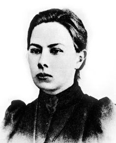 """""""Nadezda Konstantinovna Krupskaja"""", esposa de """"Lenine""""."""