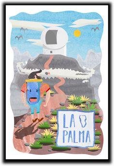 """Popatrz na ten projekt w @Behance: """"La Palma - Observatory"""" https://www.behance.net/gallery/48880953/La-Palma-Observatory"""