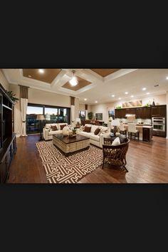 Beautiful great room/kitchen