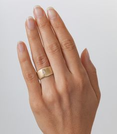 The chunky gold rings you didn't know you needed...