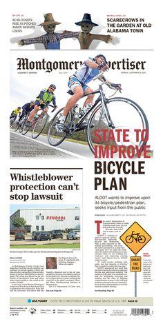 Montgomery Advertiser 9/28/15 via Newseum