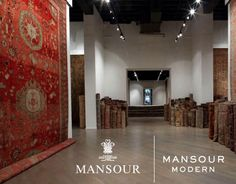 San Francisco is staying on top of it's design game with a number of new and notable shop openings in the past year. Mansour Modern rugs, a manufacturer best known for antique Moroccan rugs, is the newest addition to the San Francisco Design Center Galleria building. Offering a wide selection of fine antique and custom rugs, Mansour is the place to go for luxury carpets.