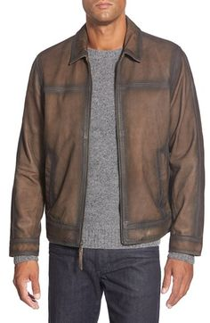 MissaniLe CollezioniAntique Leather Jacket in brown