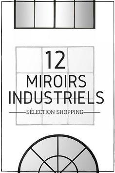 12 Magnifiques Miroirs Industriels à Découvrir !