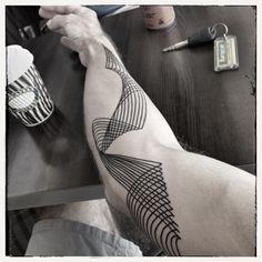 My geometric tattoo