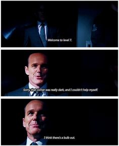 Agent Coulson. I LOVE this man!