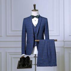 Mens 3pcs tailor ...    http://after5formals.online/products/mens-3pcs-tailor-suit-jacket-with-pants-vest-tuxedo-wedding-suits-for-men-red-blue-plaid-slim-fit-formal-suit-prom-business-2016?utm_campaign=social_autopilot&utm_source=pin&utm_medium=pin  We Ship Globally!