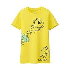 WOMEN Mr. Men Little Miss Short Sleeve Graphic T-Shirt