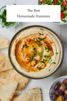 This hummus is a world apart from store-bought hummus, which is typically made with soybean oil as opposed to olive oil and citric acid as opposed to lemon juice — not to mention preservatives. And, honestly, there's no reason to buy hummus at the store; it is incredibly easy to make from scratch with very few ingredients. Just give 'em all a whirl in the food processor and you're done.